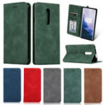 New Bakeey Flip Shockproof Card Slot With Magnetic PU Leather Full Body Protective Case For OnePlus 7 PRO
