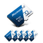 New MicroData 8GB 16GB 32GB 64GB 128GB Class 10 High Speed Max 80Mb/s TF Memory Card With Card Adapter For Mobile Phone Tablet GPS Camera Car DVR