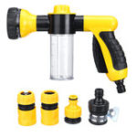 New High Pressure Car Portable Spray Cleaner Watering Washer Pump Cleaning Garden Foam Snow G un Kit