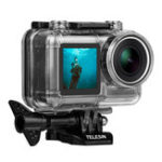 New Telesin OS-WTP-002 40M Waterproof Underwater Diving Protective Case Shell for DJI OSMO Action Sports Camera