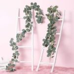 New 2M Artificial Plants Greenery Garland Faux Silk Vines Wreath Wedding Wall Leaves Decor Supplies