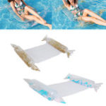 New Summer Inflatable Floating Row Swimming Air Mattresses Beach Foldable Swimming Tool