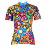 New Women's Cycling Jersey Clothes Bike Scooter Short Sleeve Jersey Shirts