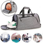 New Gym Bag 40L Waterproof Sport Travel Backpack Duffel Satchel Bag Basketball Bag Men Women