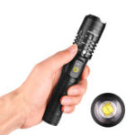New XANES® A85 XHP50 Flashlight 3 Modes Waterproof USB Chargeable Zoomable Work Lamp Camping Hunting Torch Light