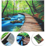 New Forest Art Tapestry Wall Hanging Throw Bedspread Beach Towel Cloth Home Decor