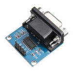 New 10pcs RS232 to TTL Serial Port Converter Module DB9 Connector MAX3232 Serial Module