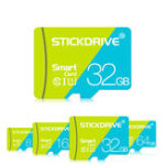 New StickDrive 8GB 16GB 32GB 64GB 128GB Class 10 High Speed TF Memory Card With Card Adapter For Mobile Phone iPhone Samsung Tablet GPS Camera Car DVR