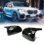 New Glossy Black Side Car Mirror Cover For BMW X3 G01 2018 +For BMW X4 G02 2018 +For BMW X5 G05 2018 +For BMW X7 G07 2018 +