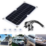 New 10w 5V 340*180cm Flexible Solar Panel for Outdoor Activities