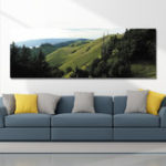 New DYC 10560 Single Spray Oil Paintings Photography Mountains Landscape For Home Decoration Paintings Wall Art