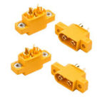 New 4PCS RJX Amass XT60E-M Connectors Male Plug XT60 E Plug To M Plug For RC Battery FPV Racing Drone