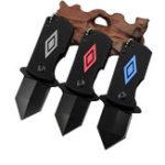 New IPRee® EDC Folding Pocket Cutter Camping Survival Multifunctional Tools Kit