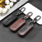 New Polyurethane Remote Car Key Case Protector Cover with Keychain For Mazda 2 3 6 Axela Atenza CX-5 CX5 CX-7 CX-9