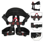 New Tree Carving Rock Climbing Harness Equip Gear Rappel Rescue Safety Seat Belt