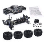 New ZD Racing Camouflage Color MT8 Pirates3 1/8 4WD 90km/h Brushless RC Car Kit without Electronic Parts