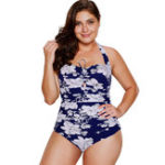 New Plus Size Strapless Swimwear