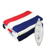New 3 Gears Control Electric Blanket Heated Mat Waterproof Luxury Flannel Comfort Single