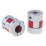 New Machifit OD25mm x L30mm Coupler Coupler Connector ID12mm CNC Stepper Motor Shaft Coupling