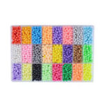 New 6000Pcs DIY Water Sticky Fuse Beads Plastic Toys Funny Kid Craft Decorations