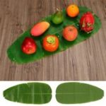 New Large Artificial Plant Banana Leaf Tropical Simulation Leaves Wedding Party Home Decorations