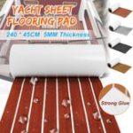 New 2400x450x5mm Marine Boat Flooring EVA Foam Yacht Teak Decking Sheet Carpet Floor