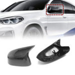 New A Pair Replacement Plastic Gloss Rear Side Car Mirror Cover For For BMW X3 – X6 G01 2018 +