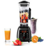 New 2L Automatic LED Screen Blender Professional Breakfast Food Processor Machine Ice cream Fruit Milkshake Juicer Blender