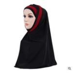 New Women Girls Mask Hijab Lace Scarf Islamic Amira Headwear Shawls Headwraps