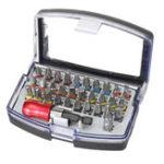 New 32-Piece Screwdriver Bit Set Precision Mini Screw Drivers Slotted Flat Head Hexagon Shank