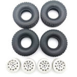New RC Car Wheel Hub For 1/16 WPL C1 C14 C24 C34 B16 B24 B36 JJRC Q60 Q61 Q63 Q65 MN 90 99 Parts