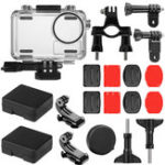 New SheIngKa 40M Waterproof Protective Case Shell Bicycle Mount Sticker Kit for DJI OSMO Action Sports Camera Cycling