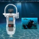 New Sunnylife Sport Camera 60 Meters Waterproof Case Diving Shell Housing For DJI OSMO POCKET Handheld Gimbal