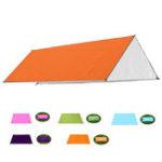 New 210x200cm Moisture-proof Mat 210D Anit-UV Tent Sunshade Hammock Shelter Camping Pad