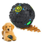 New Pet Dog Tough Treat Training Toys Chew Sound Activity Squeaky Ball Chew
