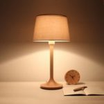 New BelaDESIGN Wood LED Table Lamp Adjustable Lampshade Stepless Dimming Reading Light from Xiaomi Youpin