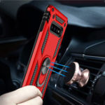 New Bakeey Armor Shockproof Ring Grip Stand Protective Case For Samsung Galaxy S10 Plus
