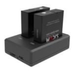 New SJcam SJ9 Series Camera Battery Dual Port Charger