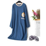New Cotton Overhead Nightgown
