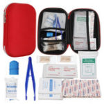 New 145Pcs Upgraded Outdoor / Indoor Emergency Survival First Aid Kit Survival Gear for Home Office Car Boat Camping Hiking Travel