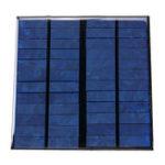 New 12V 3W 145*145mm 250mA Mini Polysilicon Solar Panel