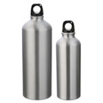 New 500/1000ML Portable Stainless Steel Drinking Water Bottle