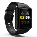 New Bakeey W37 HD Touch Screen 24hour Heart Rate Sleep Monitor 8 Sports Mode Brightness Control Smart Watch
