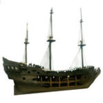 New New 1:50 DIY Black Pearl Ship Model Building Kits for Pirates of the Caribbean DIY Set Kits Assembly Toy Boat