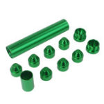"New Green 5/8″-24 Or 1/2""-28 Aluminum Fuel Trap Solvent Filter For NAPA 4003 WIX 24003"