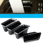 New 4PCS Front Door Armrest Car Storage Box For Ford Fusion 2013-2019