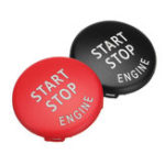 New Car Start Stop Engine Button Switch Red Black Cover for BMW X5 E70 X6 E71 3 E90 E91 E92 E93