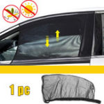 New Universal Car Sun Shade Cover Black Front Side Window Provides UV Protection