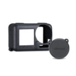 New Ulanzi Camera Lens Silicone Case Cover With Protective Hood for DJI OSMO ACTION Protective Accessory