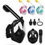 New S/M/L/XL Foldable Adjustable Anti Fog Fully Dry Diving Mask